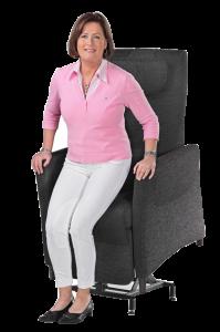 Fitform sta-opstoel